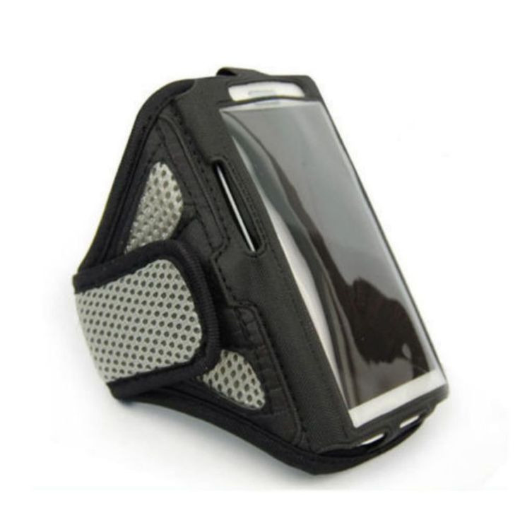 Description  This sports armband case specially designed for a stylish usage of your iPhone-6 while exercising or running. The case protects the phone