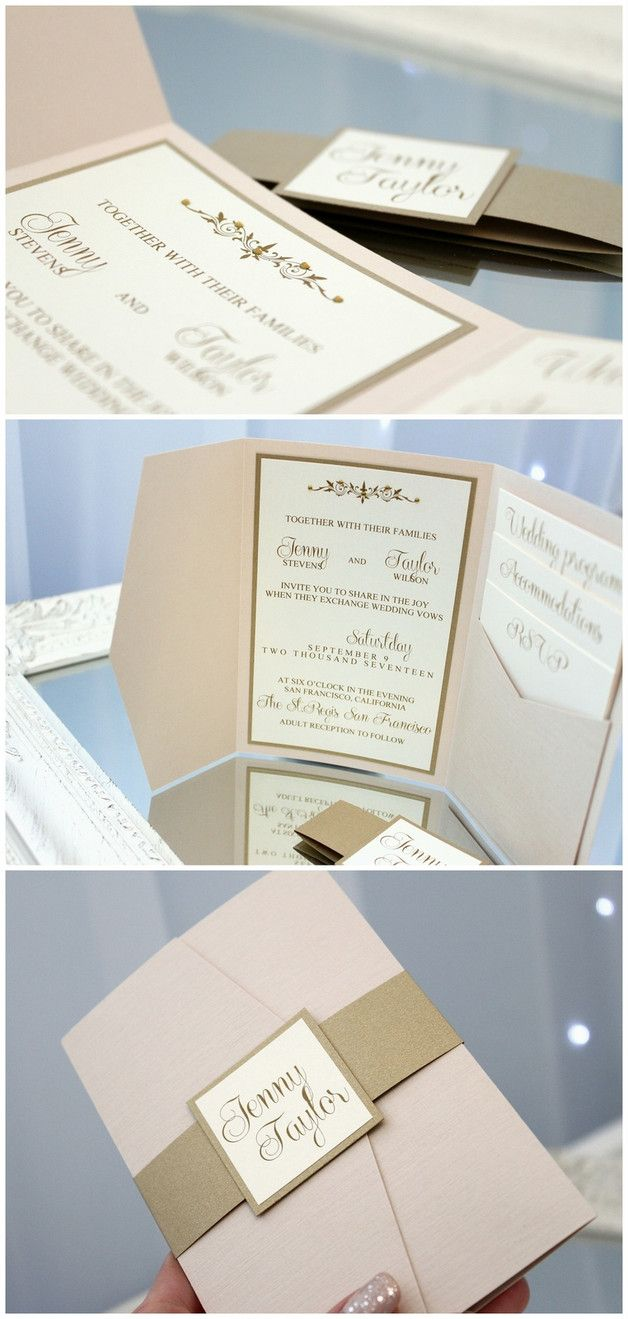5 Stück Hochzeitseinladungen Einladungskarten