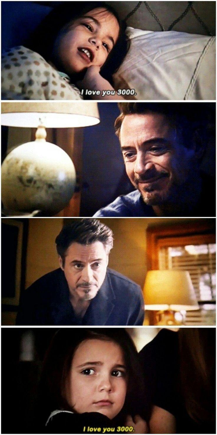 Je t'aime 3000 Tony Stark – Pas de nouvelles statistiques #Porsiempre #Teamstrong … #ba…