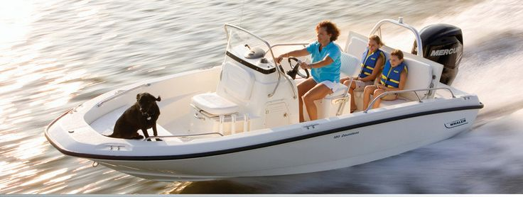 Enjoy fishing excursions and family outings on the water
