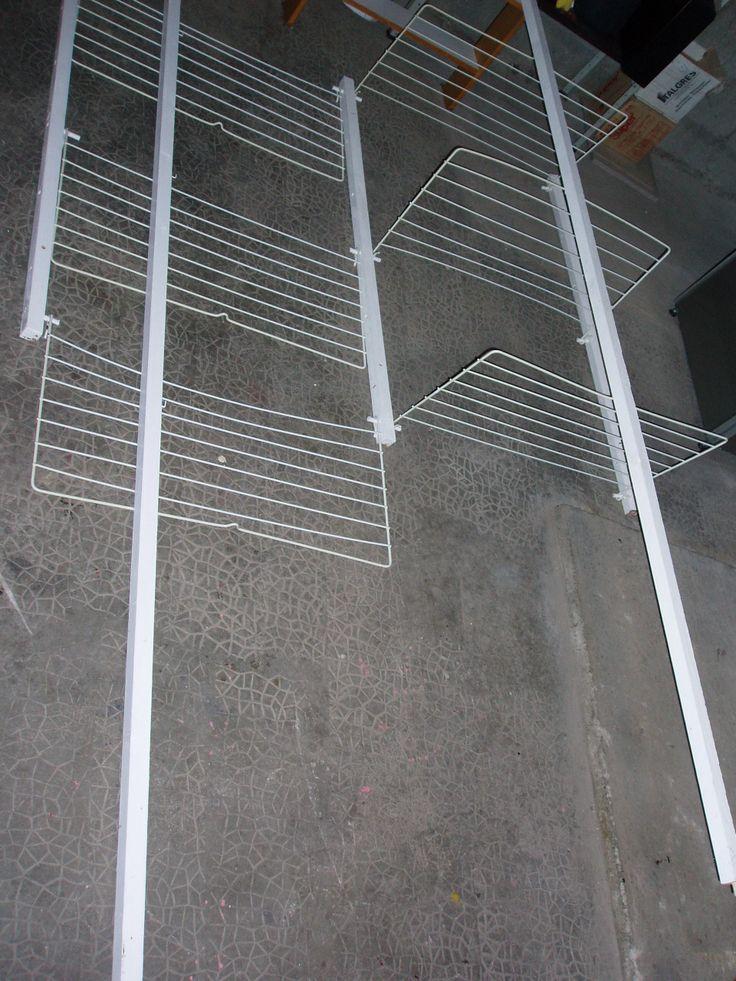 étendoir à linge mural de garage Instructions de...