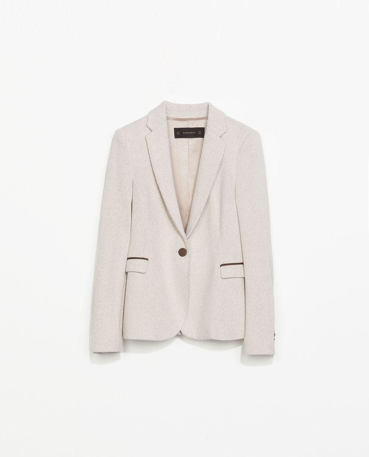 Blazer fra Zara. Ref: 2072/217