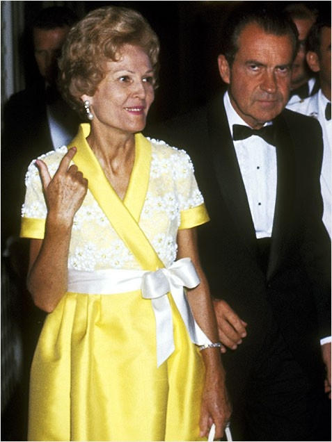 First Lady Style Pat Nixon: 1969-1974 http://www.ivillage