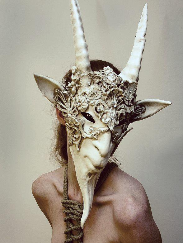 """iheartmyart: """" Pagan Mask, Mailler Phong"""
