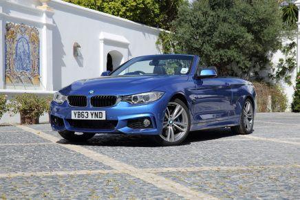 Galerie photos : BMW Série 4Cabriolet