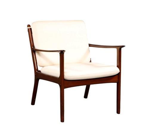 An armchair by Ole Wanscher, model PJ112