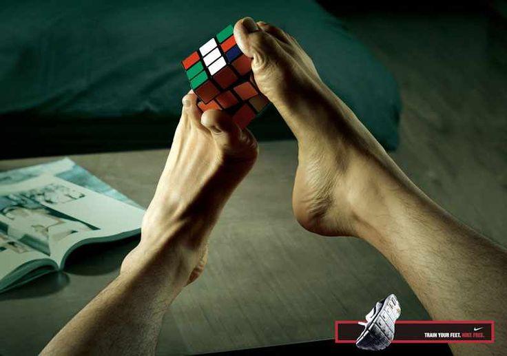Nike: Rubik's cube