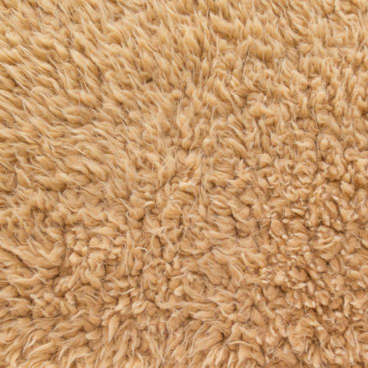 Faux Fake Fur Sherminky Soft Goat Hair Camel 60 Inch ...