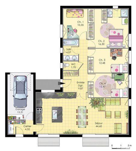 Célèbre Les 98 meilleures images du tableau Plan de maison sur 300m2 de  JT55