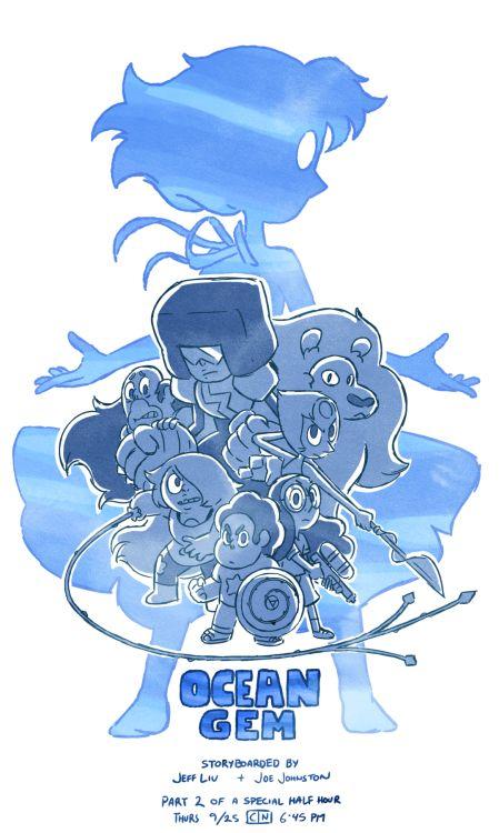 La gema del océano. Uno de los mejores capítulos de Steven Universe