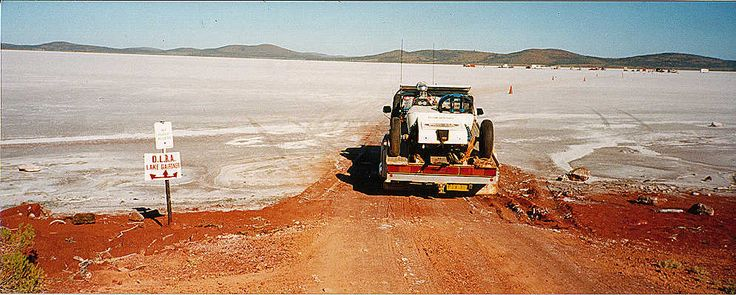 Lake Gairdner Directions, Instructions and Maps - South Australia - Dry Lakes Racers Australia