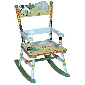 Children's Rocking Chair - Safari