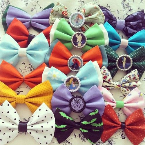 bows bows bows...good gift for those who want to wear something disney