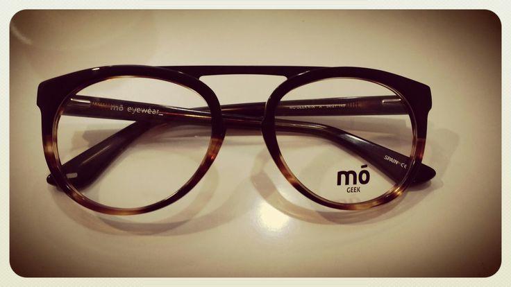 Montura redonda acetato Puente alto Mó eyewear