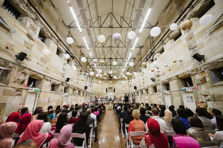 Cell Block Theatre Muslim Wedding Ceremony