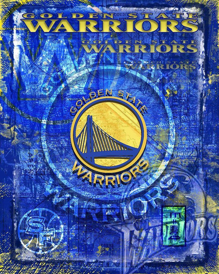 Golden State Warriors Basketball Poster, GSW, Warriors Print, Warriors                      – McQDesign