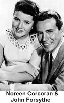 Bachelor Father, late 1950s thru early 1960s, John Forsythe and Noreen Cocoran
