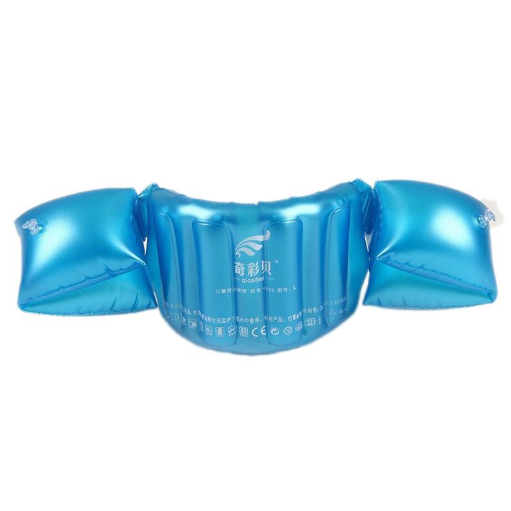 Child Inflatable Swim Vest Arm Float Ring Baby Boy Girl Swimming Circle Ring Infant Float Swim Trainer Swimming Pool Accessories