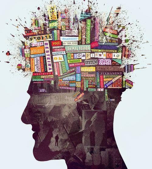 Ocupe os pensamentos com mundos novos. <3