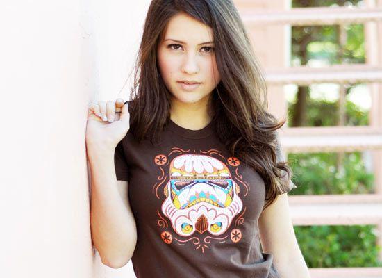 sugar skull storm tooper t-shirt