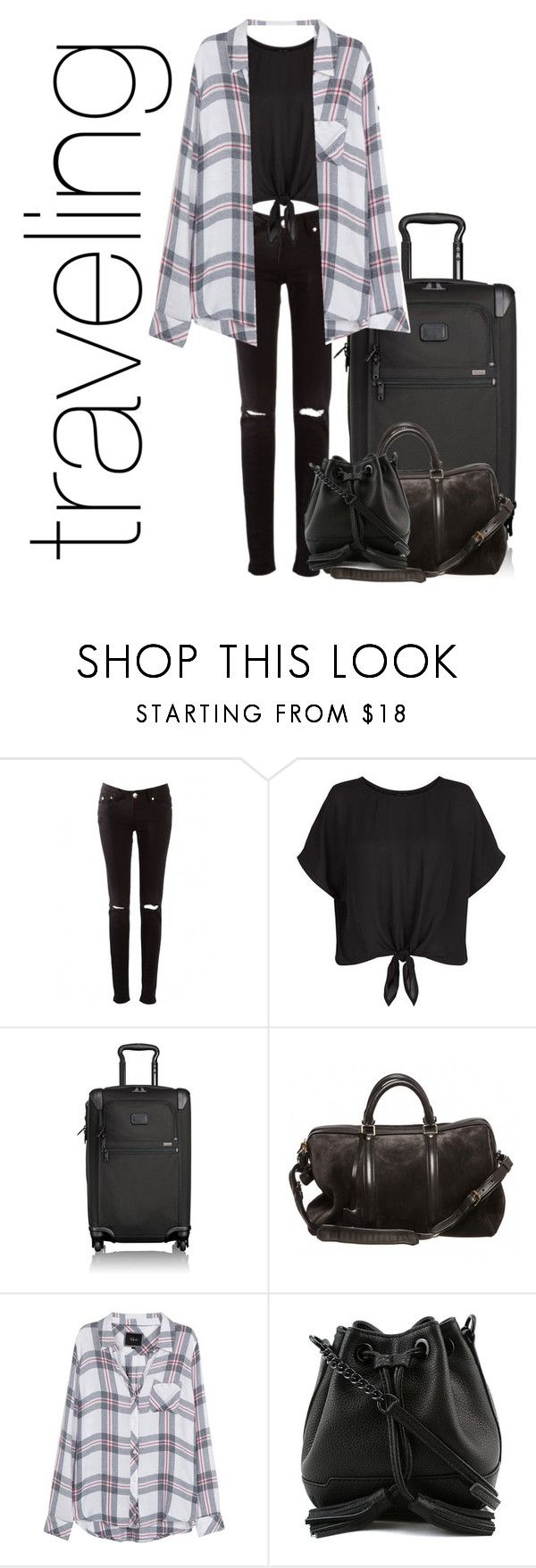 """Untitled #111"" by punkass-unicorn on Polyvore featuring New Look, Tumi, Louis Vuitton, Rails and Rebecca Minkoff"