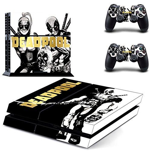 DEADPOOLPS4 Console Designer Skin for Sony PlayStation 4 System plus Two2 Decals for PS4 Dualshock Controller * You can get additional details at the image link.Note:It is affiliate link to Amazon.