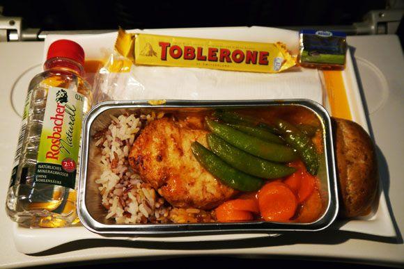 【世界の機内食】フランクフルト国際空港~ボルィースピリ国際空港(ルフトハンザドイツ航空 DLH)Airplane meals