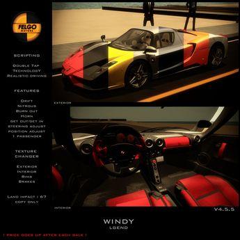 FELGO Motors // WINDY - LGEND