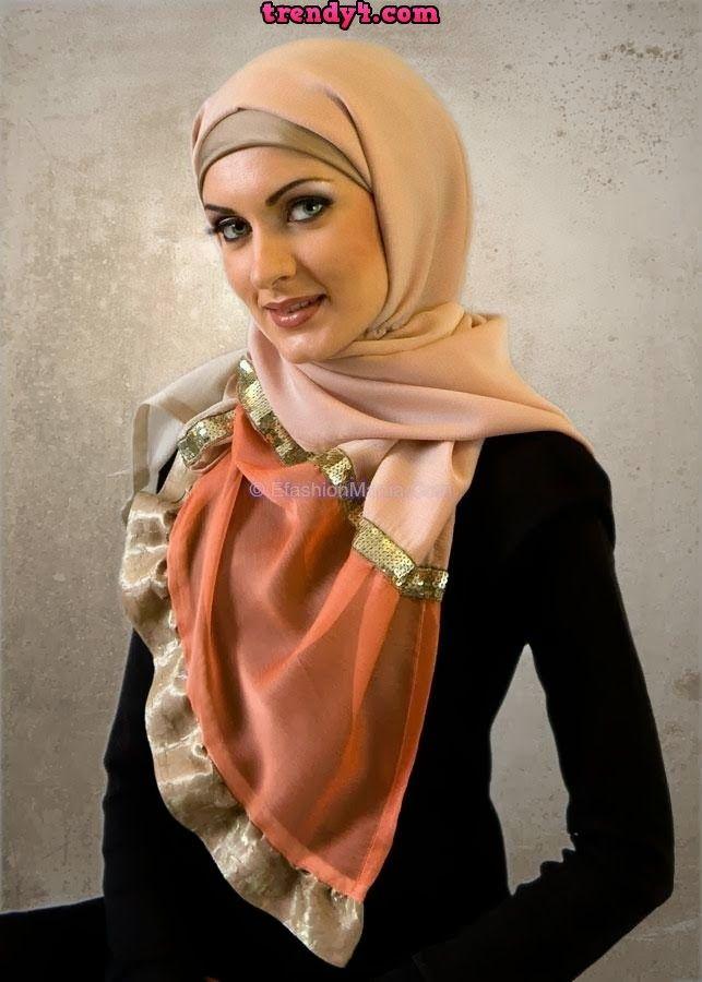 Classy and Glamorous Hijab Dresses 2014