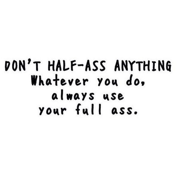 Hahaha.. Exactly what I told my team!!! Go big or go home!
