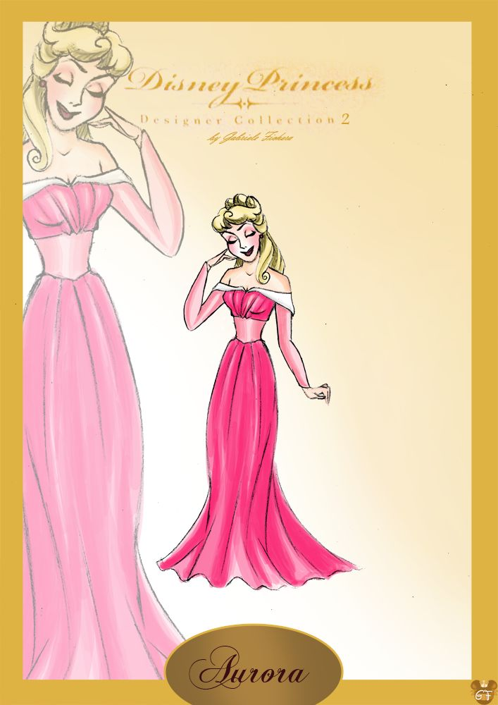 Aurora: Disney Stores, Sleep Beautiful, Disney Princesses, Disney Couture, Aurora Dpdc2, Princesses Aurora, Fans Art, Disney Fashion, Fanart