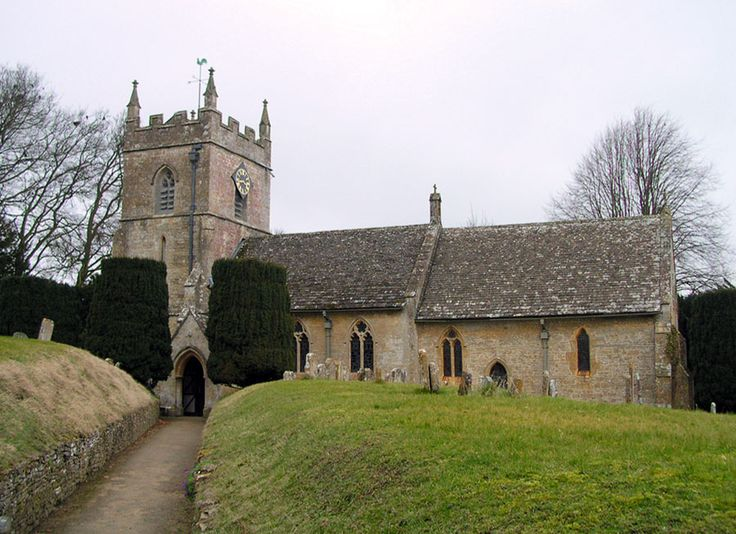 """Upper Slaughter Church - """"The Slaughters"""" - visit on the day tour to the Cotswolds"""