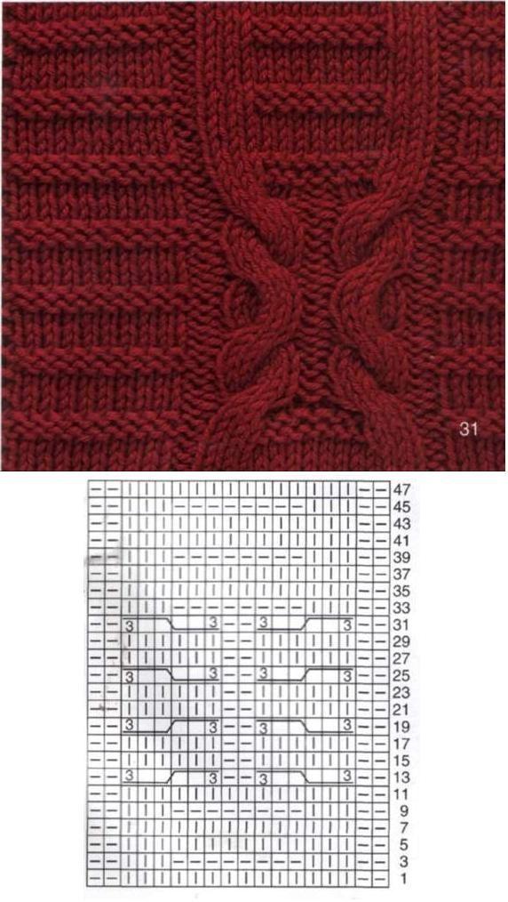 Knitting Pattern Ukhka 69 : 383 best images about Romb?,pyni? mezgimas ... on Pinterest Cable, Knit pat...