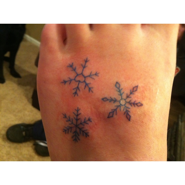 1000+ Images About Snowflake ️tattoo Ideas On Pinterest