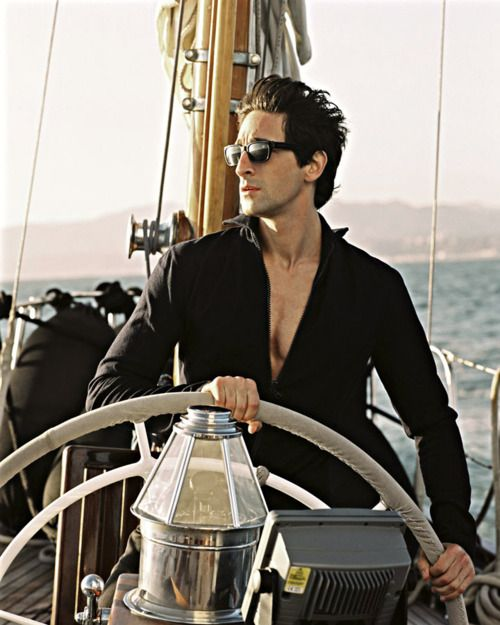 ♂ Masculine & elegance Life by the sea Adrian Brody in black