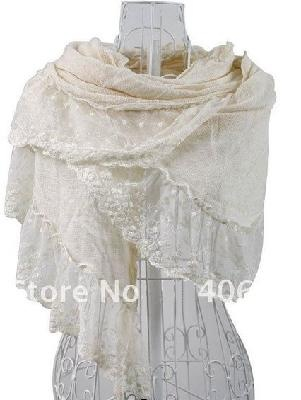 100% Cashmere Floral Style Lace Trimmed Pashmina Shawl In Many ColorsFloral Style, Sales, Colors, Pashmina Shawl, Style Lace, Cashmere Floral, Trim Pashmina, 100, Lace Trim