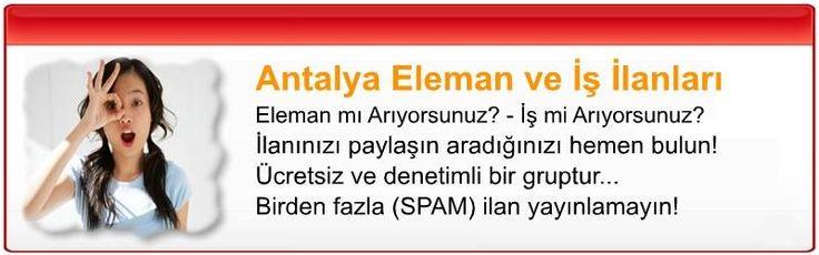 Antalya Eleman İş İlanları Grubu