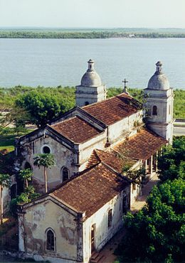 Beautiful old Catholic church in Quelimane, Mozambique.