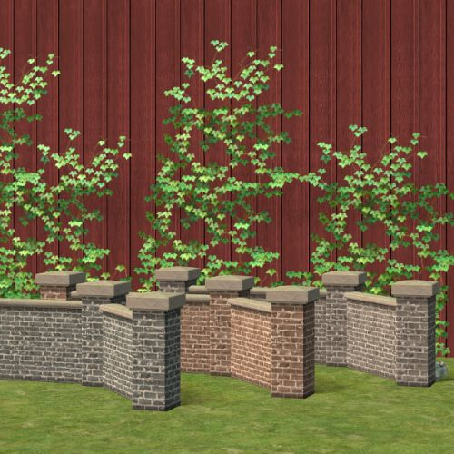 Cul-de-sac brick fences to match a lot of other brick things. Because matching :D  ts2 download box - mediafire requires any ep