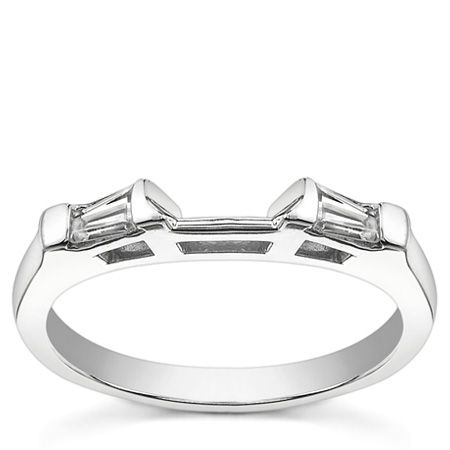 Baguette Wedding Band  http://www.moissaniteco.com/radiant-moissanite-diamond-baguette-wedding-set-p-10188.html