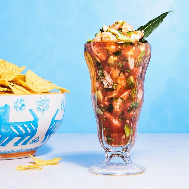 This Mexican Seafood Cocktail Is The Greatest Summer Appetizer of All Time