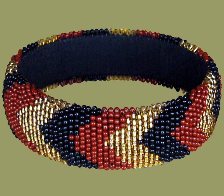 South african bead bracelet bracelet pinterest for How to make african jewelry crafts