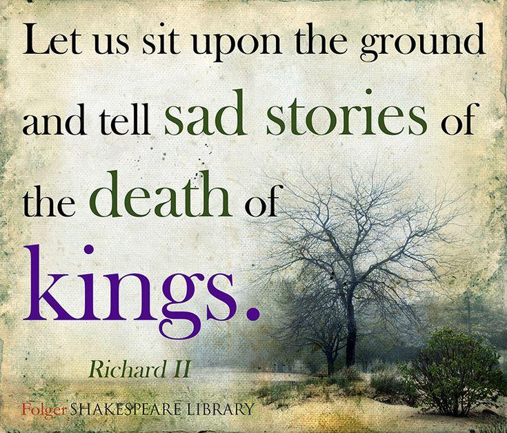 Find this #Shakespeare quote from Richard II at folgerdigitaltexts.org #FolgerDigitalTexts