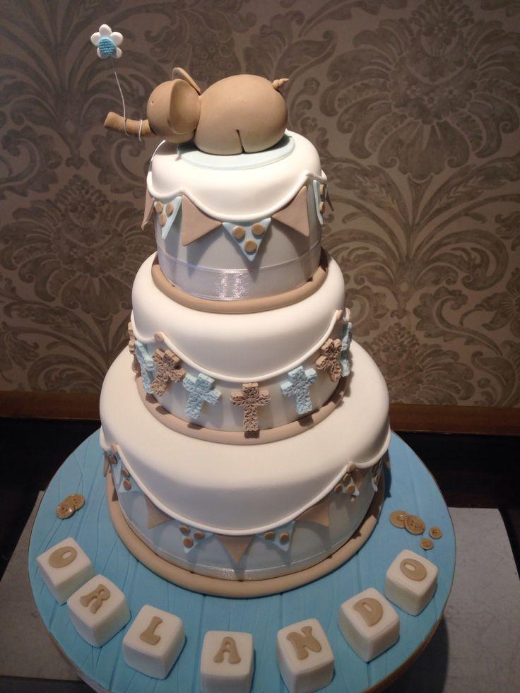 Beautiful Baby Boy Christening Cake Christening Cakes
