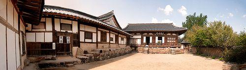 Yangjindang, Hahoe Folk Village, Andong, Corée