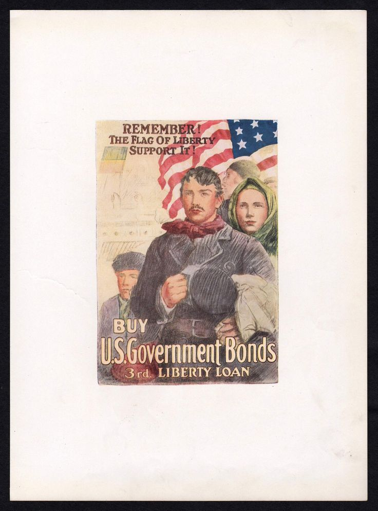 Remember the Flag of Liberty Vintage WWI Liberty Victory Loan Patriotic Poster Print