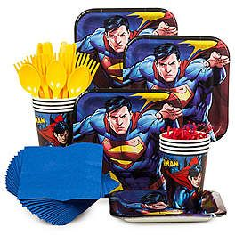 Superman Party Decorations, Supplies and Ideas | WholesalePartySupplies.com