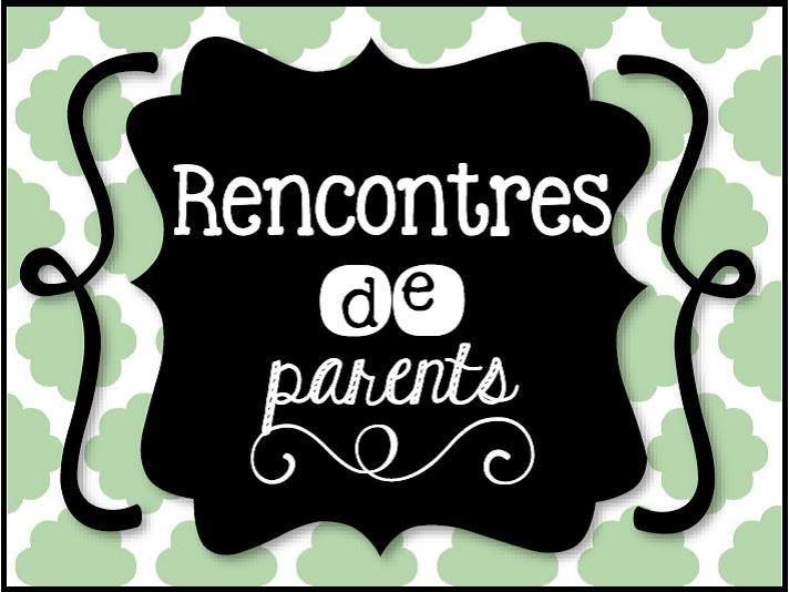 Idées pour les rencontres de parents