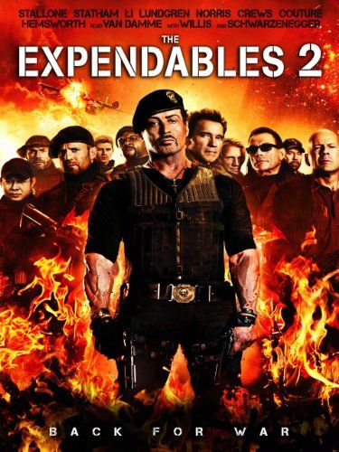The Expendables 2  Featuring: Sylvester Stallone, Jason Statham, Jet Li, Dolph Lundgren and Chuck Norris  List Price: N/A  Best New Price:$3.99  Availability:  Usually ships in 1-2 business days  Format:  Amazon Instant Video  Publisher:  N/A  http://952-movie.astrastore.com/?do=id=B00AA7O22U  http://www.youtube.com/channel/UCTNxOav9398NjbkfdzIyXqg?feature=guide  For more info please call: 936-465-4903