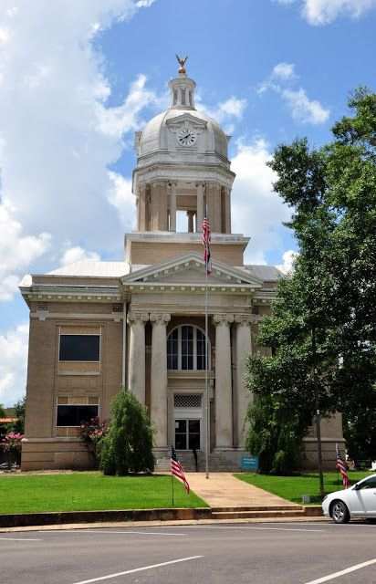 Chickasaw County Courthouse Houston, MS  Chickasaw County